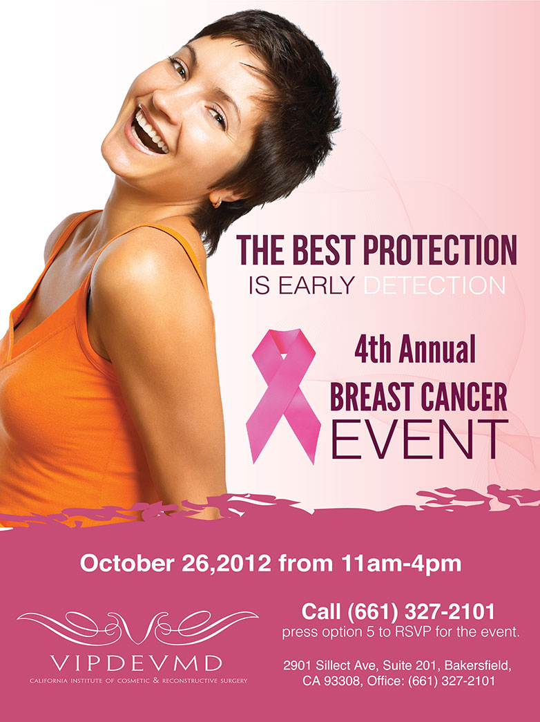 The California Institute of Cosmetic & Reconstructive Surgery's 4th Annual Breast Cancer Awareness Event